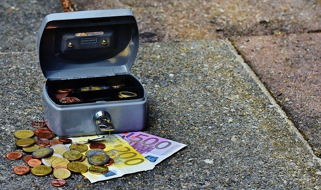 pokladna a peníze