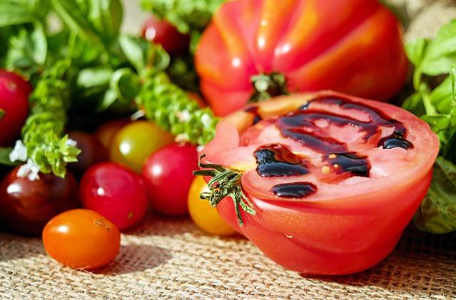 rajčata s balsamicem