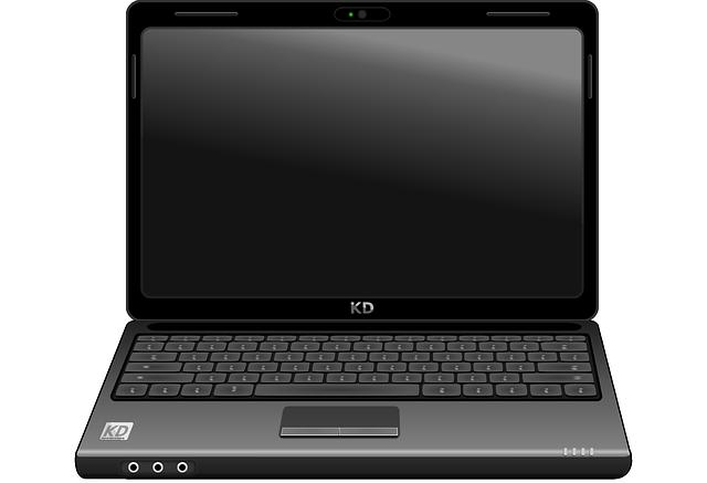 laptop animovaný