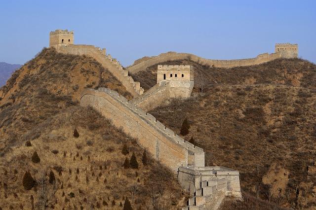 krásná Velká čínská zeď