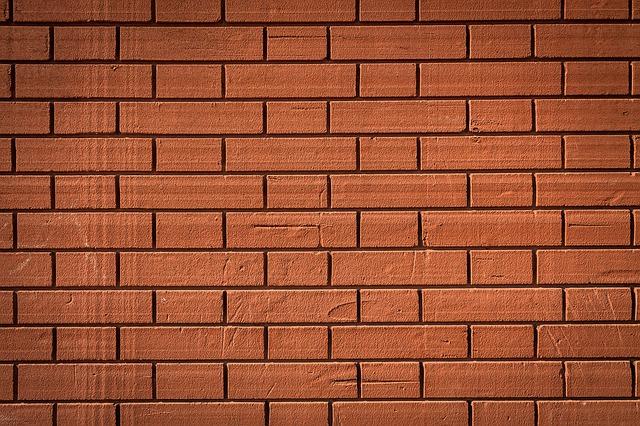 nová cihlová zeď