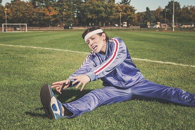 cvičení na hřišti