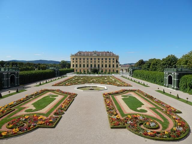 schönbrunn zahrada