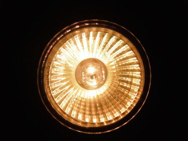 halogenové světlo
