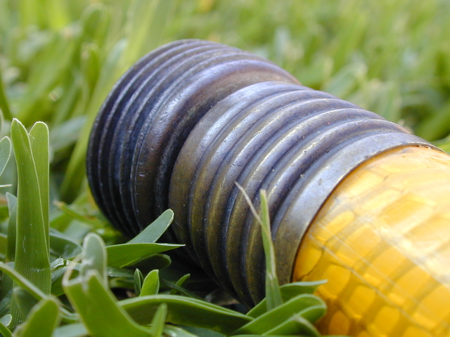 žlutá zahradní hadice