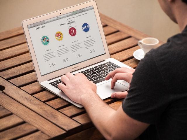 tvorba webových stránek – práce na PC