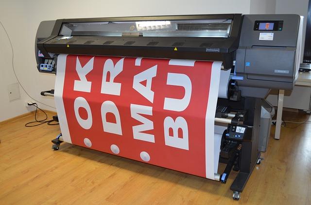 Printer pro velkoformátový tisk