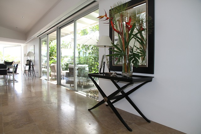 pokoj s plovoucí podlahou