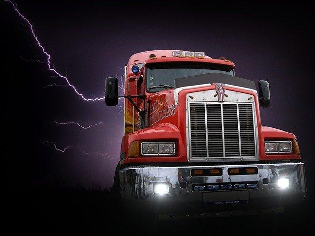 temný kamion