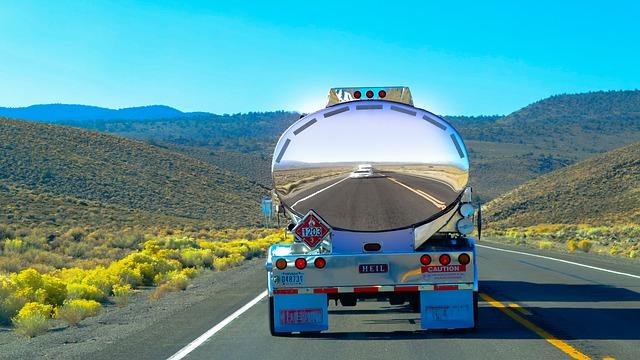 cesta kamionem